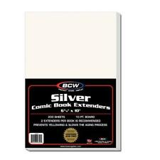 200 BCW SILVER COMIC EXTENDERS