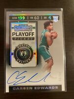 2019-20 Panini Contenders Playoff Ticket /99 RC Auto Carsen Edwards #126 PSA 10?