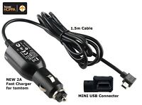 MINI USB Car Charger Cable for Tomtom GO LIVE START RIDER XL XXL ONE SERIES