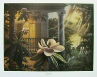 Afterglow, Magnolia Plantation by RC Davis Floral Signed and Numbered
