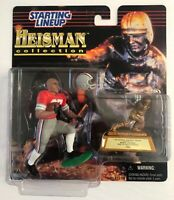 1997 Heisman Collection Eddie George Ohio State Starting Lineup Action Figure
