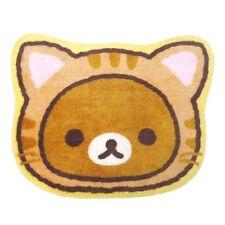 AUTH SAN-X Rilakkuma Brown Laid-back Neko Costume Car Seat Mat / Floor Mat / Rug
