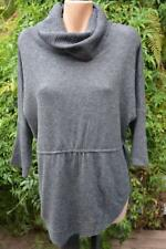 SUSSAN Thunder Grey Cowl Neck TOP/Jumper SIZE Small WOOL Blend. RRP$89.95