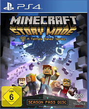 Minecraft: Story Mode - A Telltale Games Series (Sony PlayStation 4, 2015, DVD-Box)