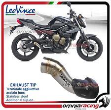 Leovince EXHAUST TIP Estensione Auspuff originale YAMAHA XJ6/DIVERSION/FZ6R