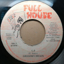 "GREGORY ISAACS~ ""G.P."" 1985 ROOTS REGGAE DUB 45 ♫ HEAR ♫"