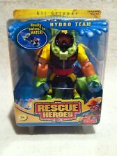 Rescue Heroes Hydro Team Gil Gripper! Scuba Diver! FACTORY SEALED!