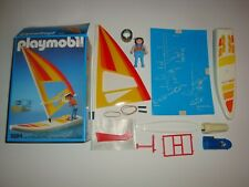 Rare Playmobil Set 3584 Wind Surfing Board Surfboard Free Shipping Us Seller