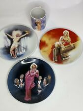 marilyn monroe collector plates and cup