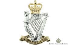 Staybrite: Royal Irish Rangers Regiment Staybright Cap Badge Anodised Aluminium