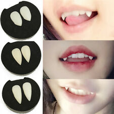 Vampire False Tooth Werewolves Fangs Dentures Teeth Halloween Party Cosplay Prop
