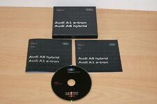 Audi a1 e-tron a8 hybrid press kit media press kit Geneva motorshow 2010