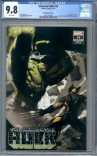 Immortal Hulk #16 Ryan Brown Variant Hulk vs. Wolverine  1st Print  CGC 9.8