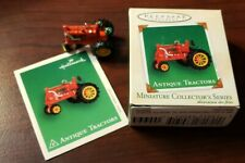 2002 Hallmark Miniature Ornament Antique Tractor Series #6