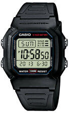 Casio Digitaluhr W-800H-1AVES Armbanduhr Digital Herren Damen Uhr