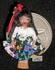Doll Wee Mexico Angel Children 1:12 Doll's Doll #953 Mexico Hispanic Miniature