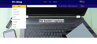 Webshop -  PC und Laptop - Wordpress Amazon Affiliate - 874 Artikel - NEU
