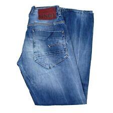 24524 G-Star 3301 Gerade Blau Herren Jeans IN Größe 30