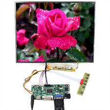 """HDM I DVI VGA LCD Controller Board 15"""" 1024x768 LP150X09 LTN150XB QD15XL06 LCD"""