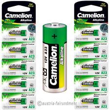 """""""10x A23 Alkaline PLUS Batterie LR23A MN21 Camelion"""