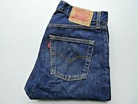 "LEVIS 505 Mens Jeans Regular Straight Blue Denim SIZE W31 L34 Waist 31"" Leg 34"""