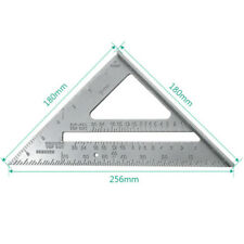 "Aluminum Alloy Speed Square 7"" Combination Carpenter's Protractor Miter Framing"