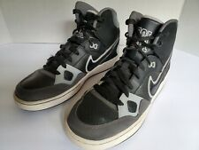 Nike Youth Son of Force Mid Top Black and Gray Size 7Y