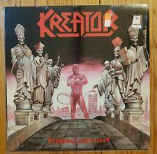 KREATOR - TERRIBLE CERTAINTY 1987 US VINYL LP THRASH METAL ORIG 1ST SHRINK* NM-