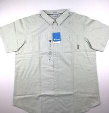Columbia Mens XL Sage Butte Light Green Regular Fit S/S Casual Shirt NWT