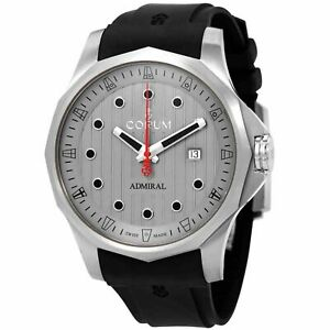 Corum A411-04173 Men's Admiral's Cup Grey Automatic Watch