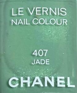 chanel nail polish 407 JADE limited edition VINTAGE