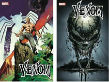 (2019) VENOM # 21 + Clayton Crain Teaser Variant Cover! Venom Island PT 1