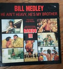 "Rambo lll Bill Medley He Ain't Heavy He's My Brother 12"" Giorgio Moroder ost"