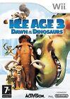 JUEGO WII NINTENDO Ice Age 3 - Die dinosario sind LOS COMO NUEVO