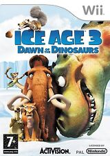 Nintendo Wii Game Ice Age 3 - The Dinosaur are on the loose Mint