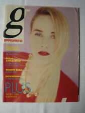 Girl About Town - May 1989 magazine Robert Elms Rik Mayall