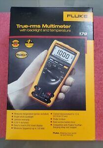 Fluke 179 ESFP True-RMS Digital Multimeter - Yellow/Black
