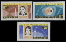 VIETNAM du NORD N°360/362** Non dentelés,1964, Espace North VietNam Imperf.Space