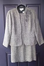 Women's Coldwater Creek Beautiful 2 Piece Business Dress Suit Size 6 Petite