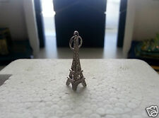 NEW Sterling Silver Eiffel Tower Pendant/Charm