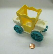 Vintage Fisher Price Little People CASTLE CARRIAGE #993 King's Royal Coach Part