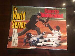 Braves/Blue Jays World Series - Sports Illustrated - October 26 1992