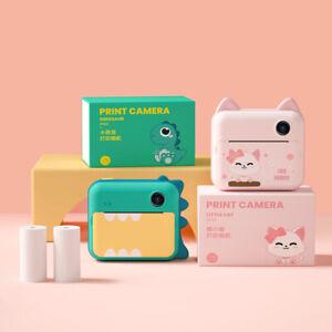 HD Instant Fast Print Printing Kids Camera Camcorder Cam For Boy Child Kids Girl