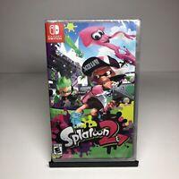 Nintendo Switch Splatoon 2 Video Game - Brand New Sealed - inkling
