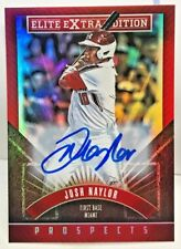 Josh Naylor 2015 Elite Extra Edition Prospect RC on-card Autograph Auto #13