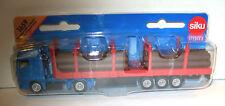 SIKU 1659 Miniature MAN LOG TRANSPORTER 18.5cm Long - Diecast & Plastic