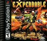 Expendable Playstation 1 Game PS1 Used