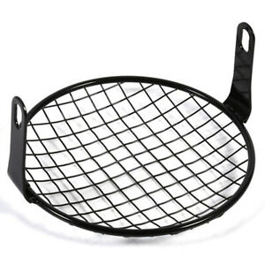 Metal Square Mesh Grill Guard Fit for Motorcycle Headlight Light Cover Protector