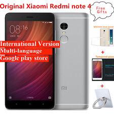 """Original Xiaomi Redmi note 4 MIUI 8 32GB MTK Helio X20 Deca Core 5.5"""" 1920x1080"""
