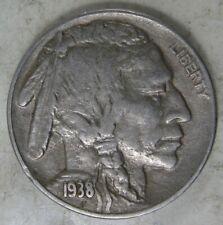 1938 D Buffalo Nickel VF #3